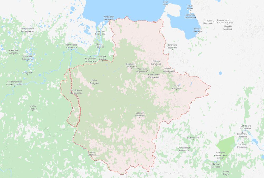 Russian Federation Bilibinskiy Rayon Area Codes